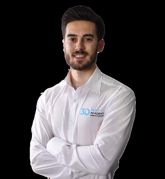 Alexander Bordino, 3D Print Academy Trainer